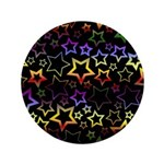 Rainbow and Black Star Pattern 3.5