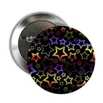 Rainbow and Black Star Pattern 2.25