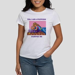 Yes, I Am a Princess Women's T-Shirt