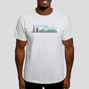 NYC Liberty Skyline lite Light T-Shirt