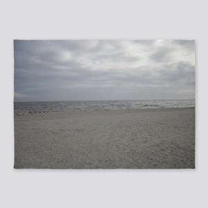 Beach 1 5'x7'Area Rug