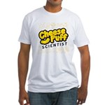 Cheese Puff Scientist Fitted T-Shirt