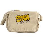 Cheese Puff Scientist Messenger Bag