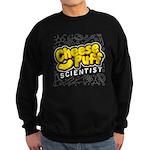 Cheese Puff Scientist Sweatshirt (dark)