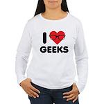 I Heart Geeks Women's Long Sleeve T-Shirt
