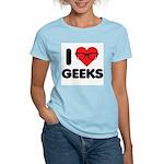 I Heart Geeks Women's Light T-Shirt