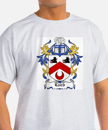 Laird Coat of Arms Ash Grey T-Shirt