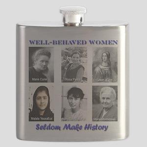 Well-Behaved Women Flask