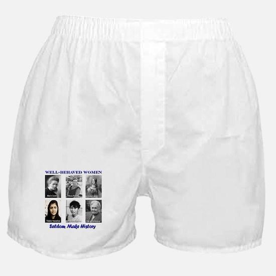 Well-Behaved Women Boxer Shorts