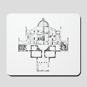 Andrea Palladio Villa Rotunda Mousepad
