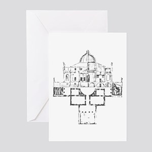 Andrea Palladio Villa Rotunda 6 Greeting Cards
