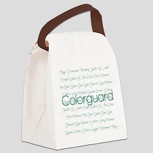 Colorguard Canvas Lunch Bag