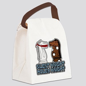 Silent Knight Canvas Lunch Bag