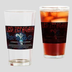 Led Zepagain Drinking Glass