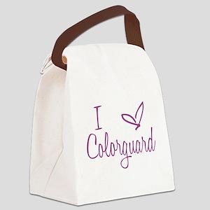 I love Colorguard Canvas Lunch Bag