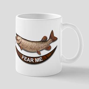 Muskie Fear Me Mug