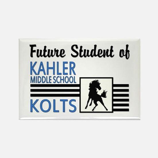 Future Kahler Student Rectangle Magnet