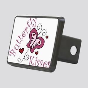 Butterfly Kisses Rectangular Hitch Cover