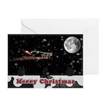 Christmas Cow Card (Pk of 10)
