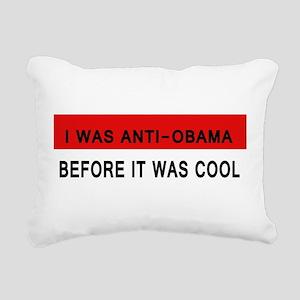 Anti-Obama Rectangular Canvas Pillow