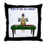 Bailout Bill Throw Pillow