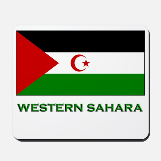 Western Sahara Flag Stuff Mousepad