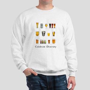 Celebrate Diversity Beer Sweatshirt