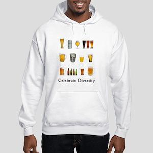 Celebrate Diversity Beer Hooded Sweatshirt