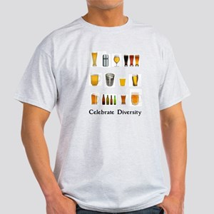 Celebrate Diversity Beer Light T-Shirt