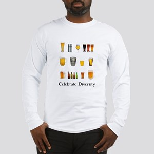 Celebrate Diversity Beer Long Sleeve T-Shirt