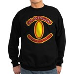 Anime Sword of Fire Solavenger Sweatshirt (dark)