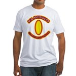 Anime Sword of Fire Solavenger Fitted T-Shirt
