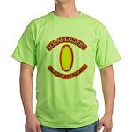Anime Sword of Fire Solavenger Green T-Shirt