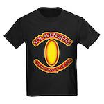 Anime Sword of Fire Solavenger Kids Dark T-Shirt