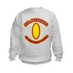 Anime Sword of Fire Solavenger Kids Sweatshirt