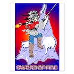 Anime Sword of Fire Solavenger Small Poster
