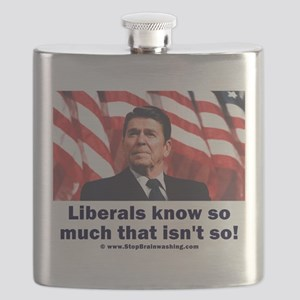Liberals Know So Much That Is Not So ! Flask