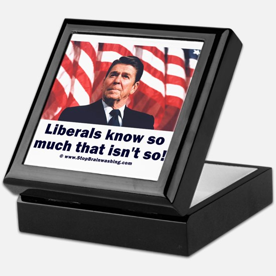 Liberals Know So Much That Is Not So ! Keepsake Bo