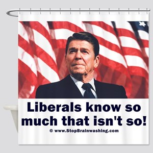 Liberals Know So Much That Is Not So ! Shower Curt