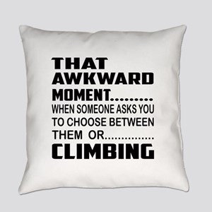 That Awkward Moment... Curling Everyday Pillow