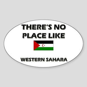 There Is No Place Like Western Sahara Sticker (Ova