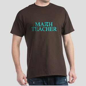 Math Teacher Pi Dark T-Shirt