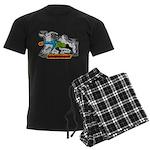 Anime Cavern Heat Solavenger Men's Dark Pajamas