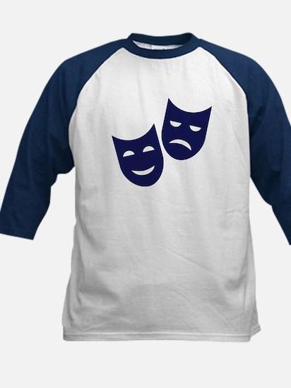 Theater masks Kids Baseball Jersey