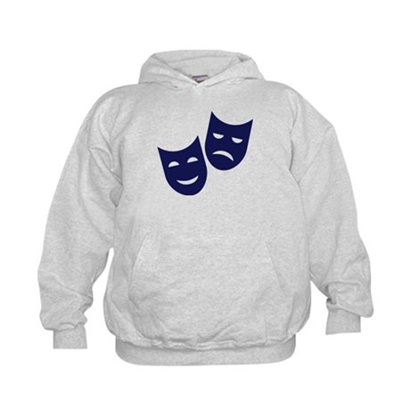 Theater masks Kids Hoodie