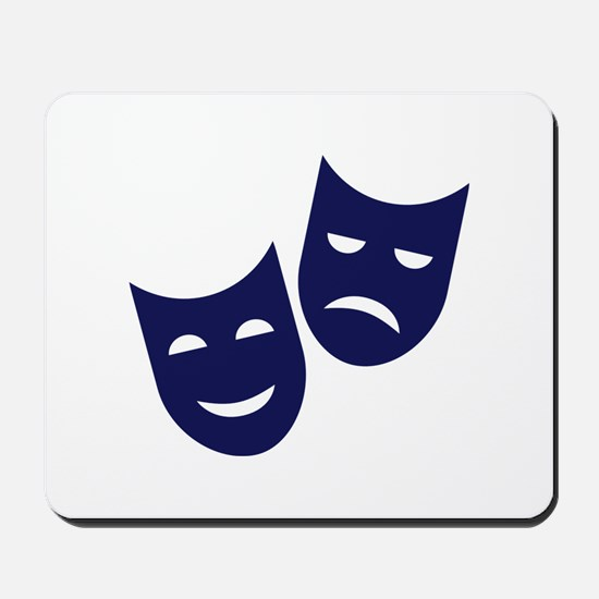 Theater masks Mousepad