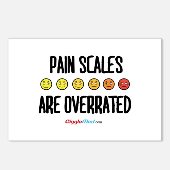 Pain Scales are Overrated 02 Postcards (Package of