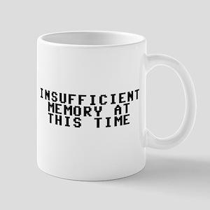 Insufficient memory at this time Mug