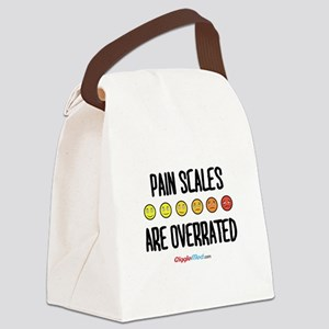Pain Scales are Overrated 02 Canvas Lunch Bag