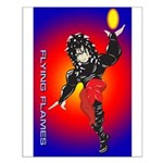 Anime Flying Flames Solavenger Small Poster